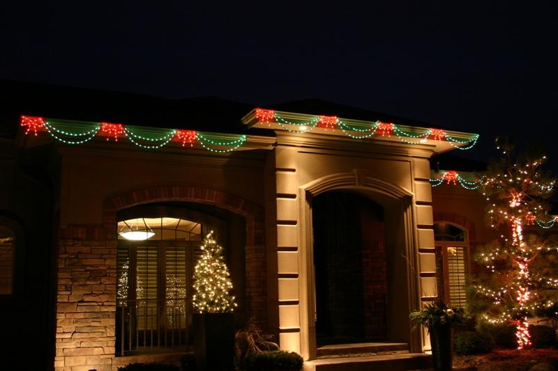 Christmas Swag Lights