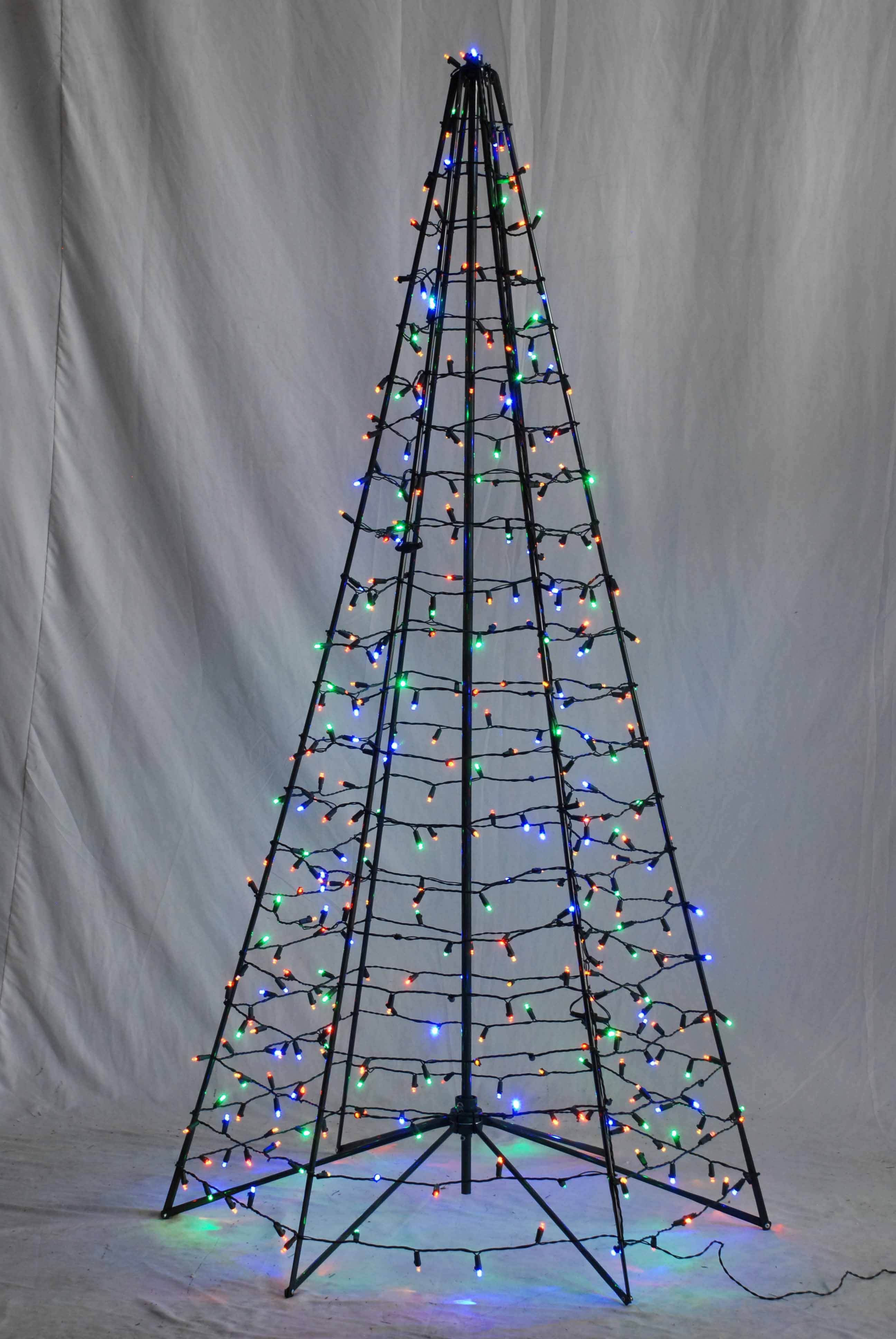 Holiday Bright Lights Of Indiana Led Pop Up Umbrella